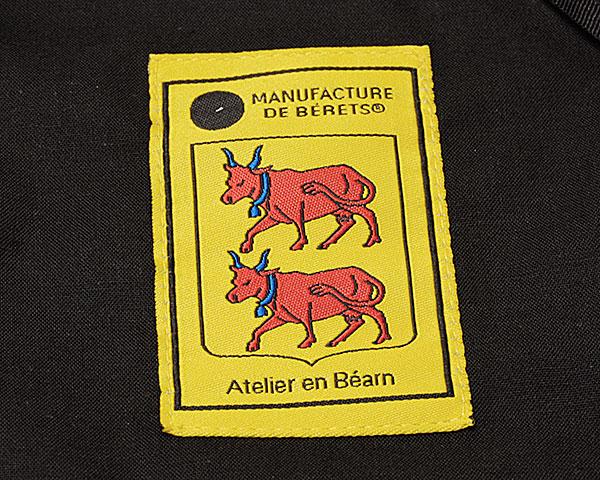 """フランス""""MANUFACTURE DE BERET(マニュファクチュールドゥベレー)"""" ウールバスクベレー BERET CLASSIQUE 10.5inch"""