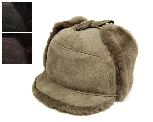 """【A】 フランス""""MISTRAL(ミストラル)""""ムートンイヤーフラップ付きキャップ[大きいサイズの帽子アリ][小さいサイズの帽子アリ]  (kaw-mist-23050)"""