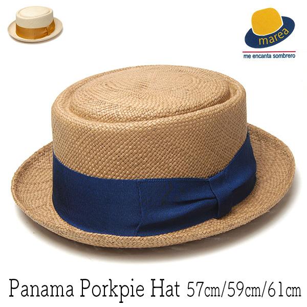 MAREAマレア パナマポークパイハットJP183