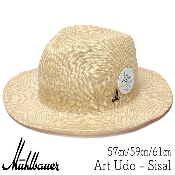 """オーストリア""""MUEHLBAUER(ミュールバウアー)"""" シゾール中折れ帽 Udo"""