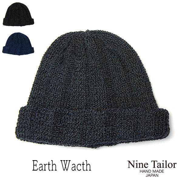 NINE TAILOR(ナインテイラー)ニット帽EARTH WATCH