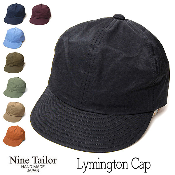 """NINE TAILOR(ナインテイラー)""小つばキャップ Lymington Cap"