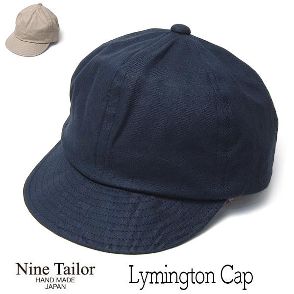 NINE TAILOR(ナインテイラー)キャップLymington Cap
