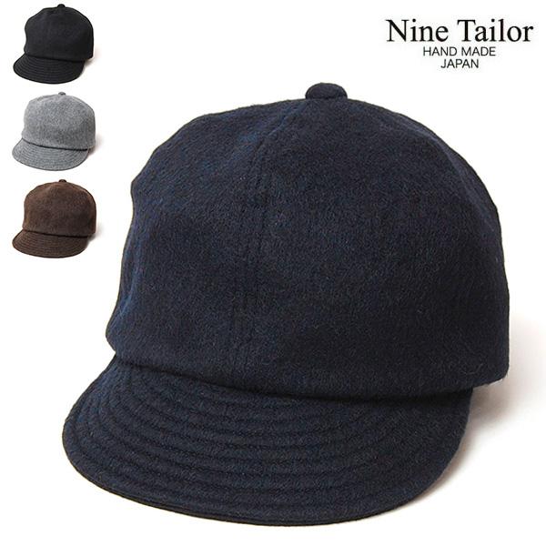 """""""NINE TAILOR(ナインテイラー)""""小つばシャギーキャップ Shaggy Cap"""