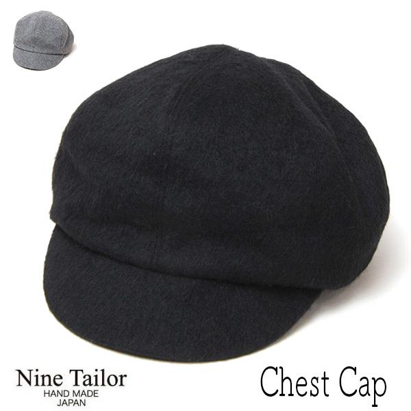 """""""NINE TAILOR(ナインテイラー)"""" シャギーキャスケット Chest Cap"""