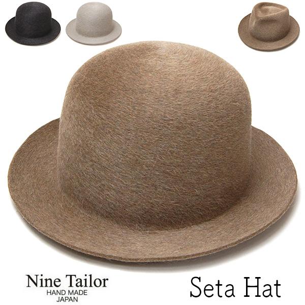 NINE TAILOR(ナインテイラー) ファーフエルトハット SETA HAT