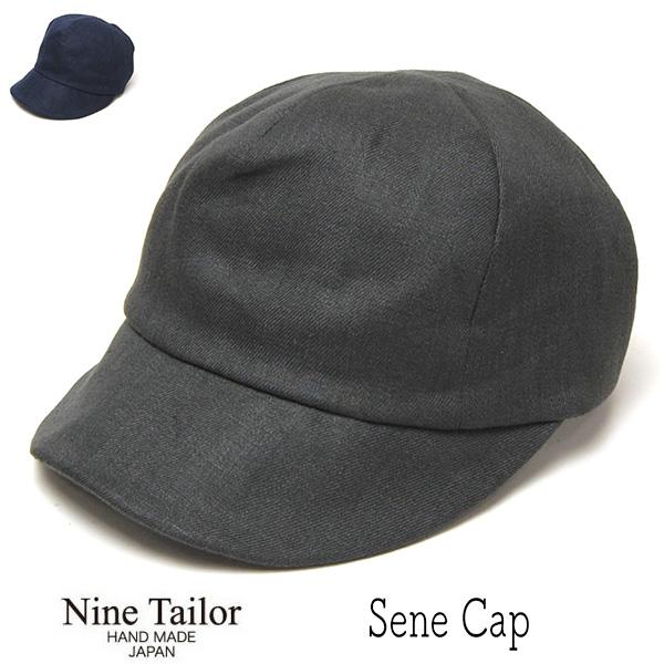 """NINE TAILOR(ナインテイラー)"" リネンキャップ Sene Cap?"