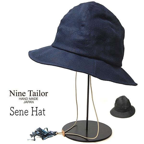 """""""NINE TAILOR(ナインテイラー)"""" リネンメトロハット Sene Hat"""