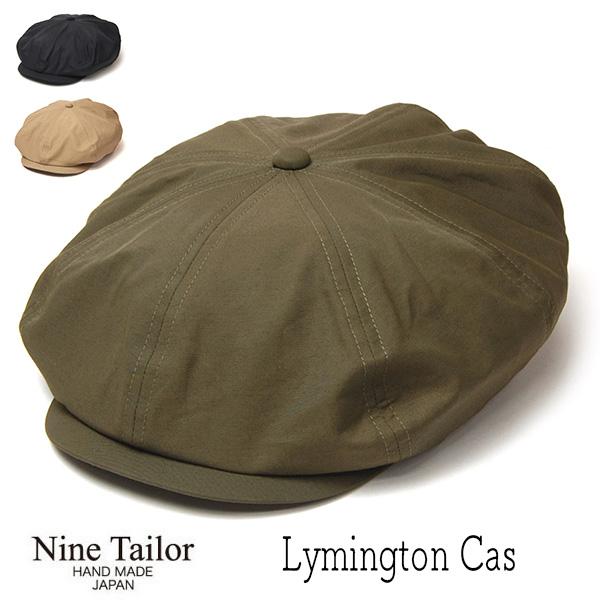"""""""NINE TAILOR(ナインテイラー)"""" コットンナイロン8枚はぎハンチング Lymington Cas"""