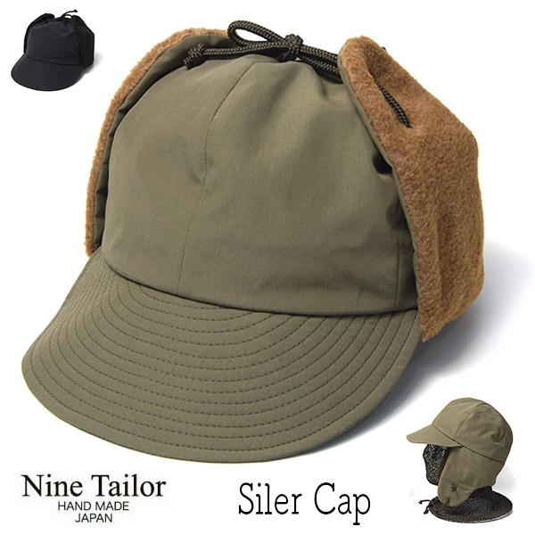 NINE TAILOR(ナインテイラー)コットンナイロンキャップSilerCap