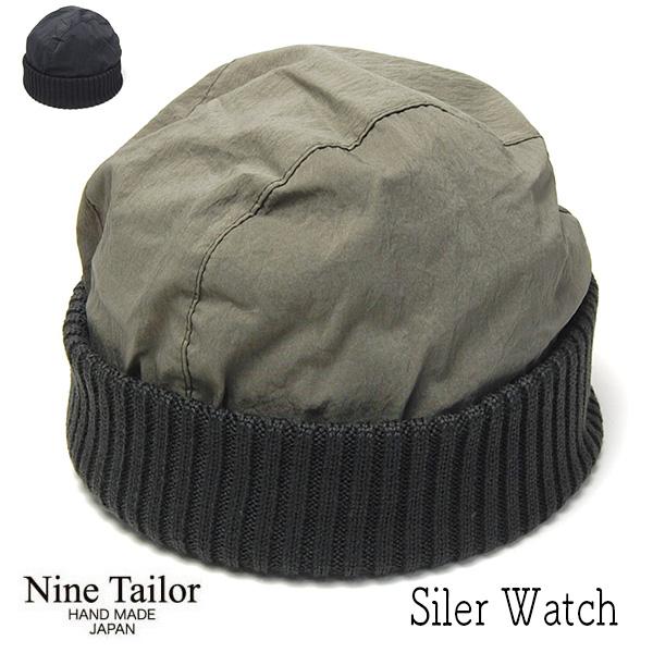"""""""NINE TAILOR(ナインテイラー)"""" ウールニットキャップ Siler Watch"""