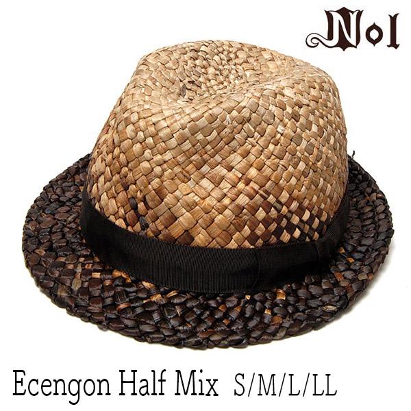 NOL(ノル)ストロー中折れ帽 ECENGONHALFMIX