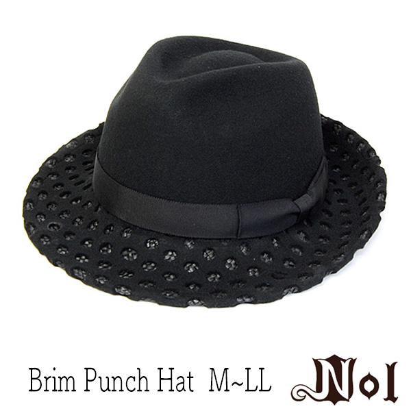 NIL(ノル)フエルトxストロー中折れ帽
