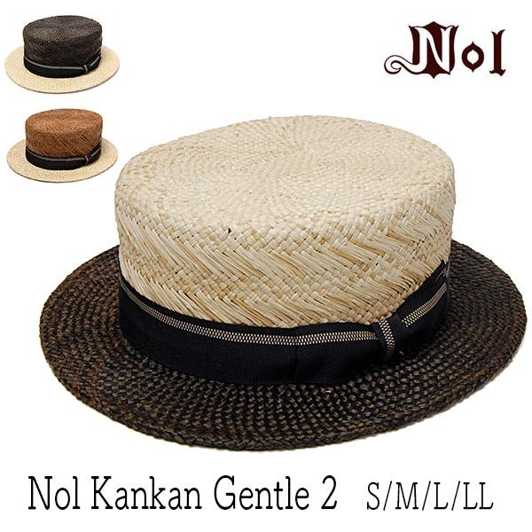 NOL(ノル)ツートーンパナマカンカン帽Nol Kankan Gentle2