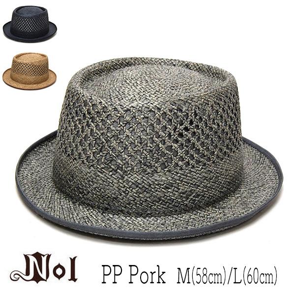 NOL(ノル) ペーパーストローポークパイハット[ PP Pork]