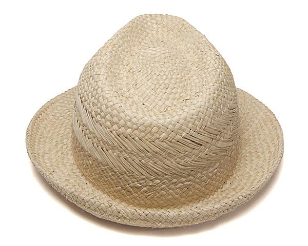 NOL(ノル)コーヒー染めパナマ中折れ帽Panama Kopi Body