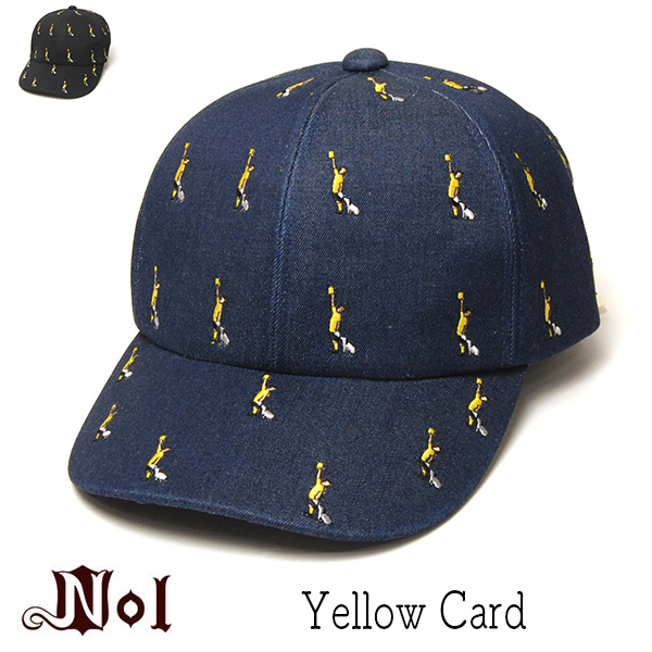 NOL(ノル)コットンキャップYELLOW CARD