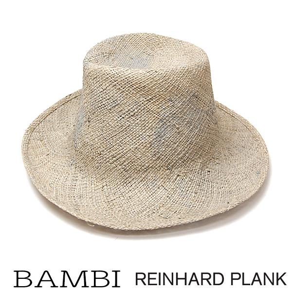 REINHARD PLANK(レナードプランク)ストローハットBAMBI