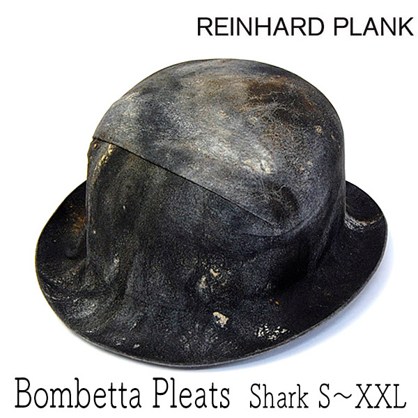 REINHARD PLANK(レナードプランク)ファーフエルトボーラーハットBOMBETTA