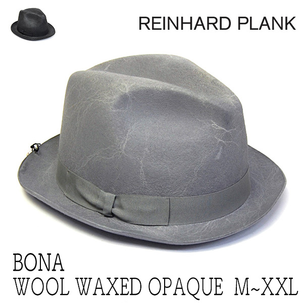 REINHARD PLANK レナードプランク ウールフェルト中折れ帽 BONA