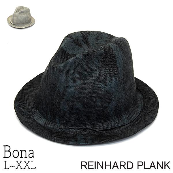 REINHARD PLANKレナードプランクストロー中折れ帽(BONA)