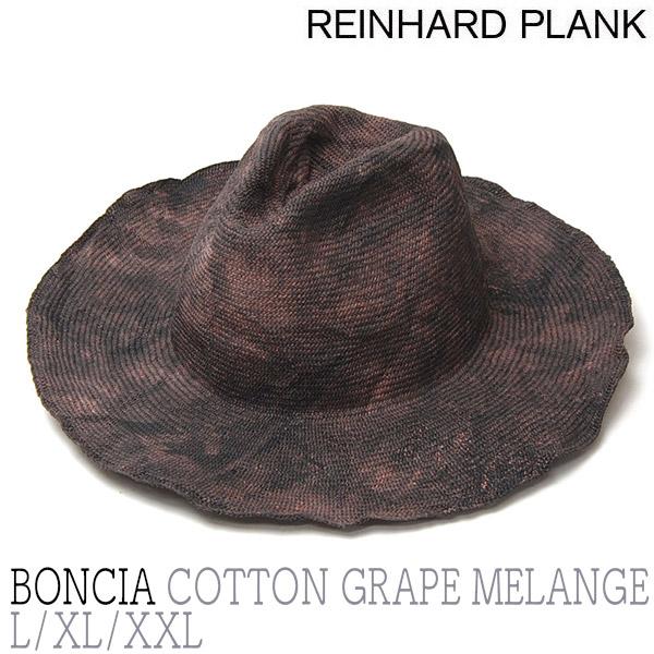 """""""REINHARD PLANK(レナード プランク)"""" コットン中折れ帽 BONCIA COTTON?"""