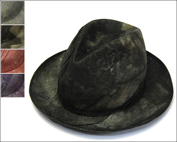 REINHARD PLANKストロー中折れ帽