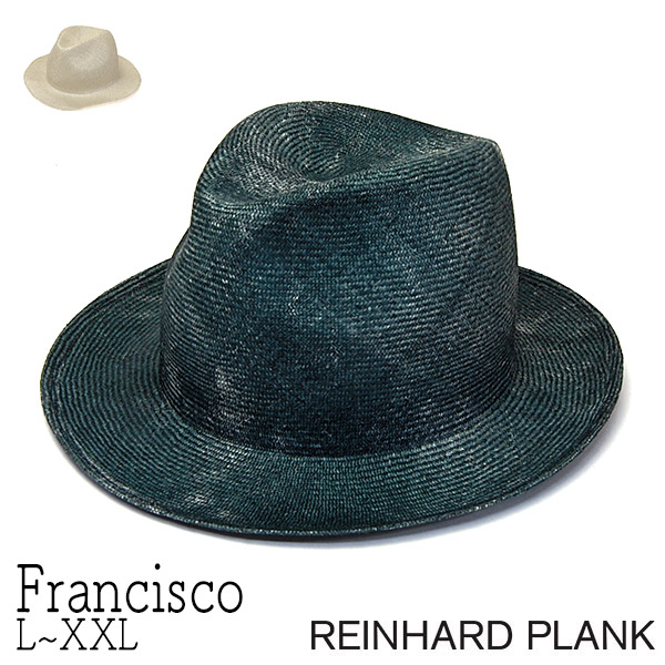 REINHARD PLANK(レナードプランク)ストロー中折れ帽(FRANCISCO)