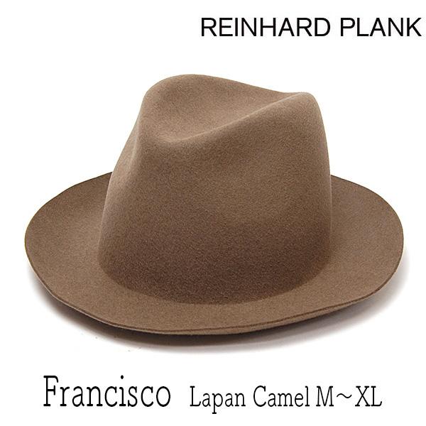 REINHARD PLANK(レナードプランク)ファーフエルト中折れ帽FRANCISCO