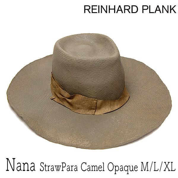 """イタリア""""REINHARD PLANK(レナード プランク)""""ストロー中折れ帽 NANA STRAWPARA CAMEL OPAQUE"""