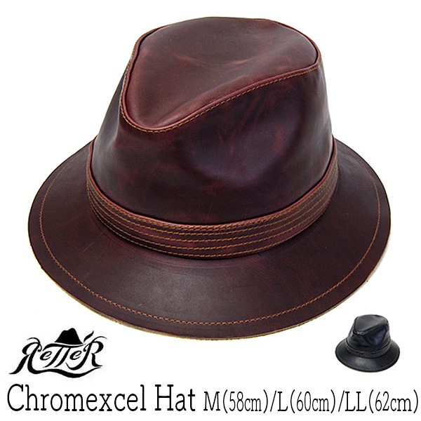 Rette(レッター) レザーハット CHROMEXCEL HAT