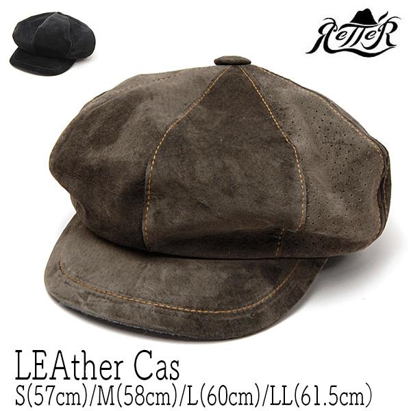 Retter(レッター) スエードキャスケット[LEAther Cas]
