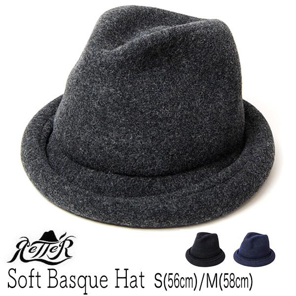 """""""Retter(レッター)""""ウール中折れ帽 SOFTBASQUE HAT"""