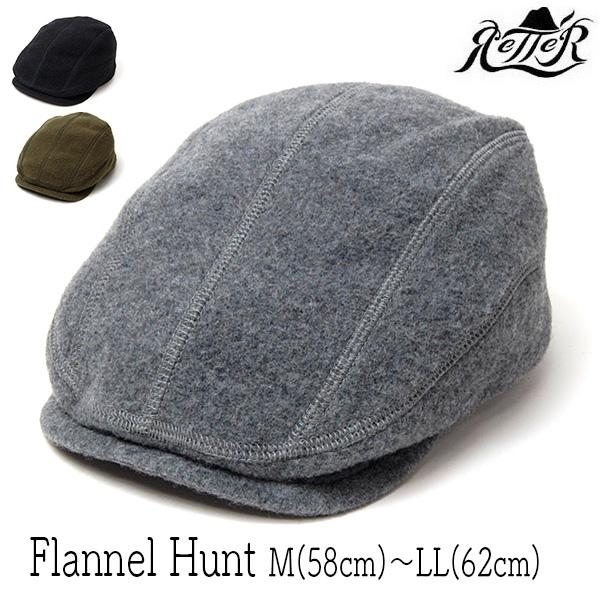 """""""Retter(レッター)""""フランネルハンチング(Flannel Hunt"""