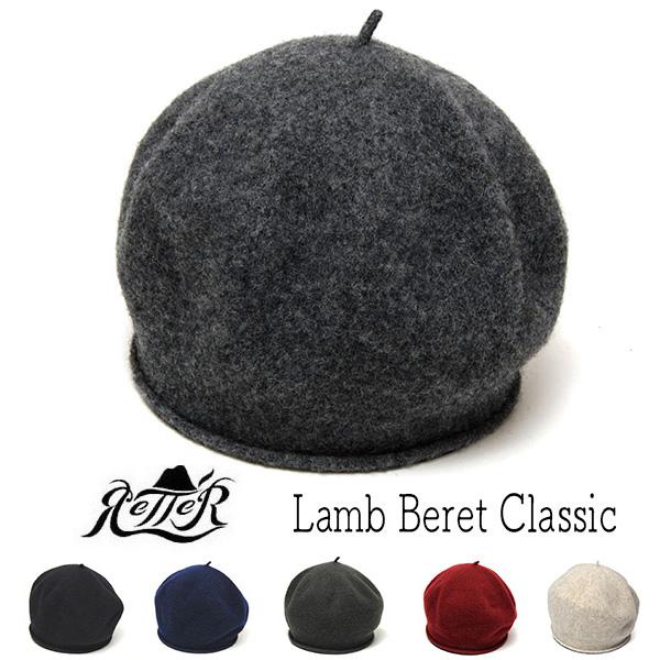 """""""Retter(レッター)"""" ラムウールベレー Lamb Beret Classic"""