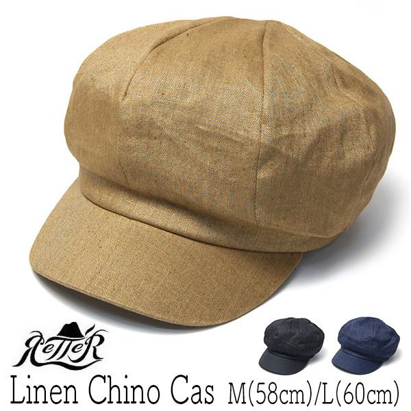 """""""Retter(レッター)"""" リネンキャスケット Linen Chino Cas?"""