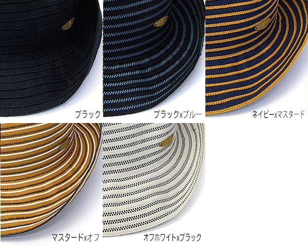 roubou(ロウボウ)コットンブレード中折れ帽