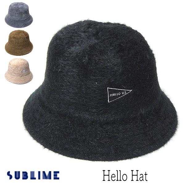"""""""SUBLIME(サブライム)"""" アンゴラファーハット HELLO HAT?"""