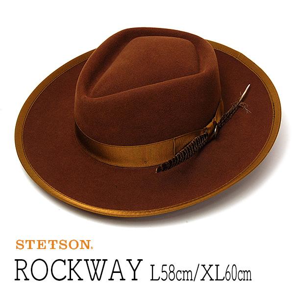 """アメリカ""""STETSON(ステットソン)""""ウールフエルトポークパイハット [ROCKWAY]"""