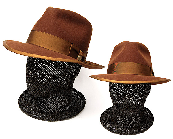 STETSON(ステットソン)ウールフエルト中折れ帽(VINTAGE WHIPPET)