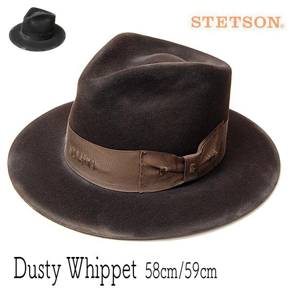 """アメリカ""""STETSON(ステットソン)""""ウールフエルト中折れ帽 DUSTY WHIPPET"""