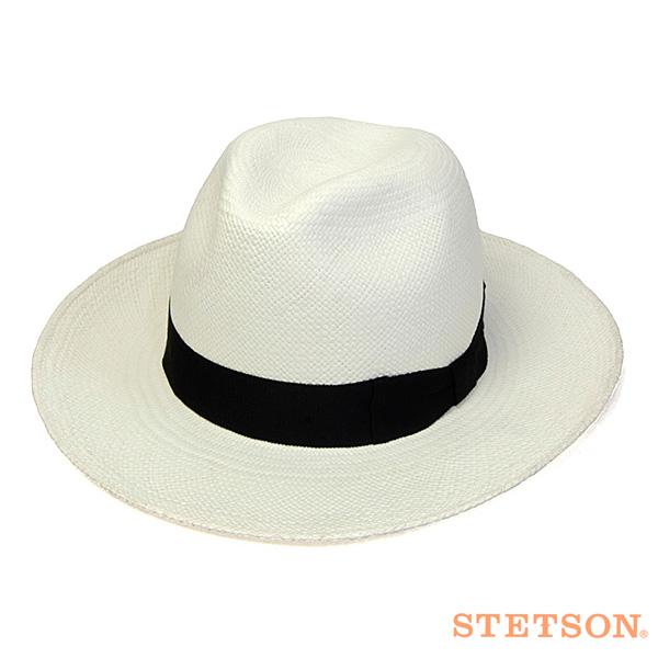 STETSONパナマ中折れ帽