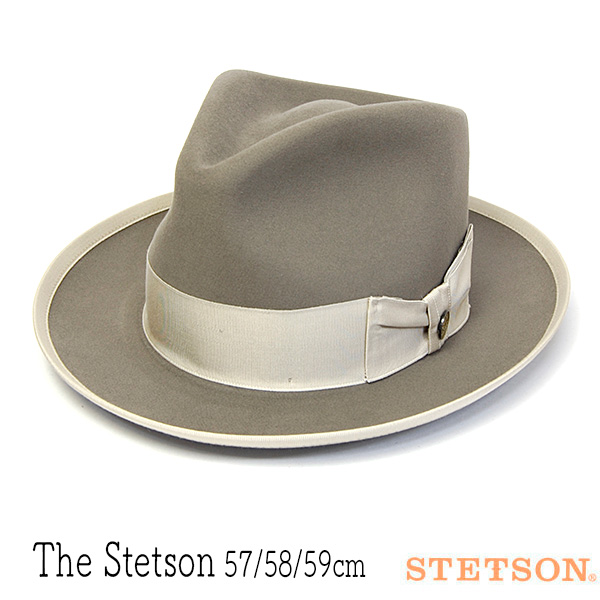 アメリカSTETSONビーバーフェルト中折れ帽(THE STETSON)