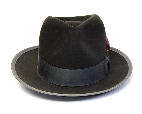 STETSONファーフエルト中折れ帽PREMIER WHIPPET