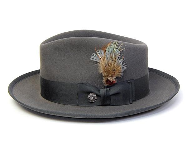 STETSONファーフエルト中折れ帽(WHIPPET)