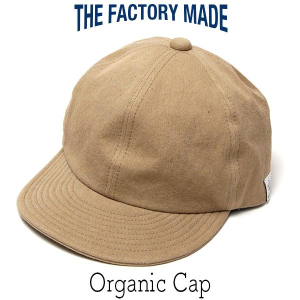 """THE FACTORY MADE(ザファクトリーメイド)"" オーガニックコットンキャップ [Organic Cap]"