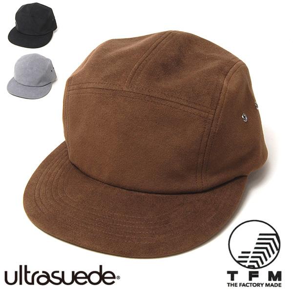 """THE FACTORY MADE(ザファクトリーメイド)"" ウルトラスエードジェットキャップ Ultrasuede JET CAP"