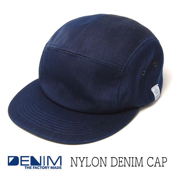 """""""THE FACTORY MADE(ザファクトリーメイド)"""" ナイロンデニムバケットハット Nylon Denim Hat?"""