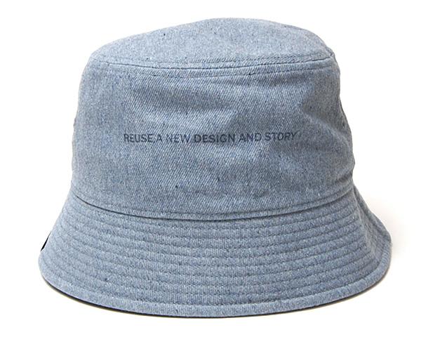"""THE FACTORY MADE(ザファクトリーメイド)"" リサイクルデニムバケットハット Reuse Denim Hat?"