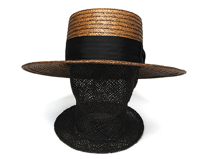 """THE FACTORY MADE(ザファクトリーメイド)"" ペーパーブレードダウンハット Braid Down Hat"